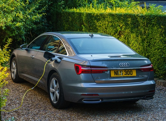 The new Audi A6 2021.