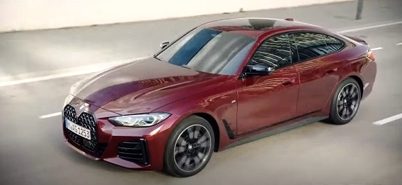 BMW Alpina B4 Gran Coupe 2022.