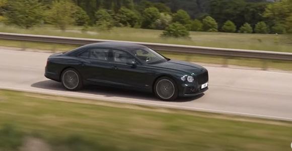 Bentley Flying Spur Hybrid Revealed 2022.