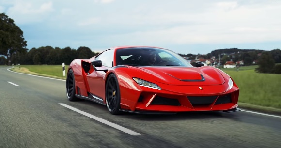 Ferrari F8 N-Largo 2021.