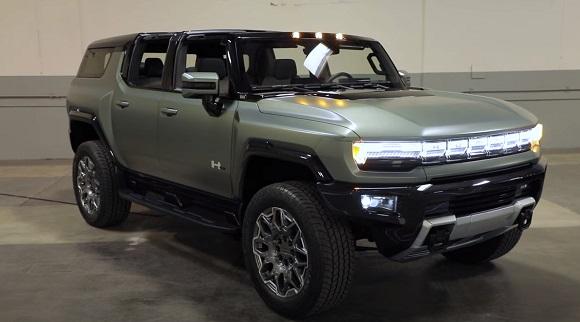 GMC Hummer 2022.