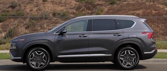 Hyundai Santa Fe (electro) 2022.