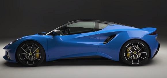 Lotus Emira 2021.