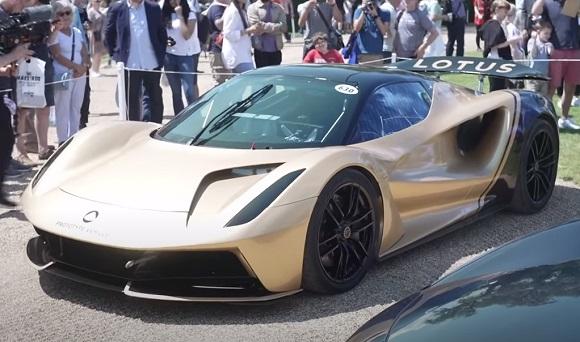 Lotus Evija 2021.