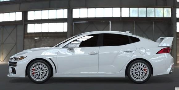 Mitsubishi LANCER EVO XI 2023.