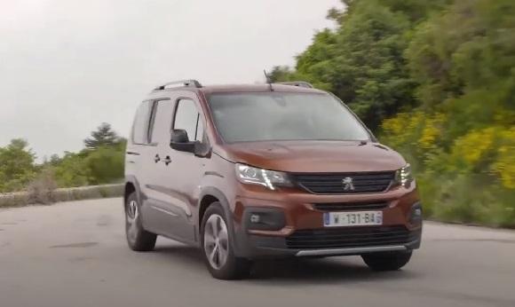 Peugeot e-Rifter 2021.
