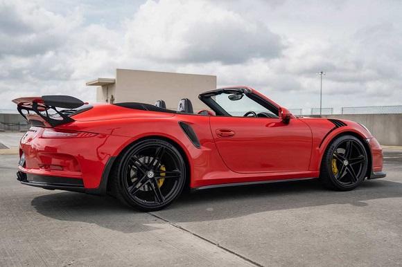 Porsche 911 GT3 RS Convertible 2021.