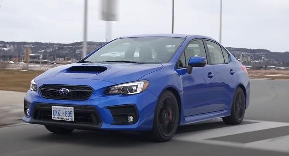 Subaru WRX STI 2022.